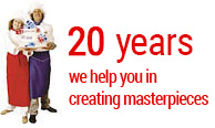We have been working for 20 years in order to help you in creating culinary masterpieces